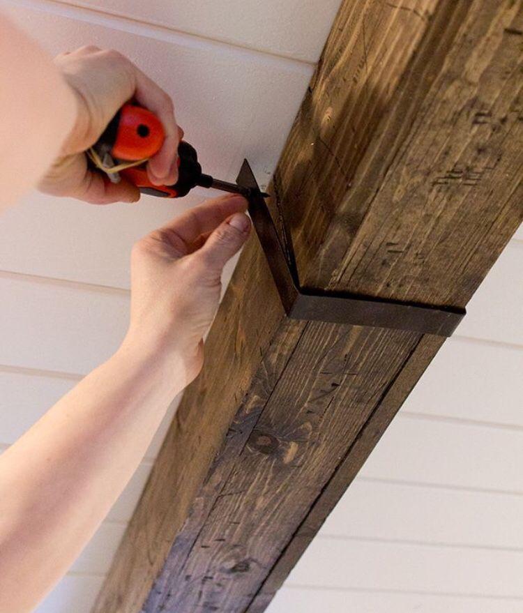 Beam Strap In 2019 Faux Wood Beams Ceiling Beams Wood Beams