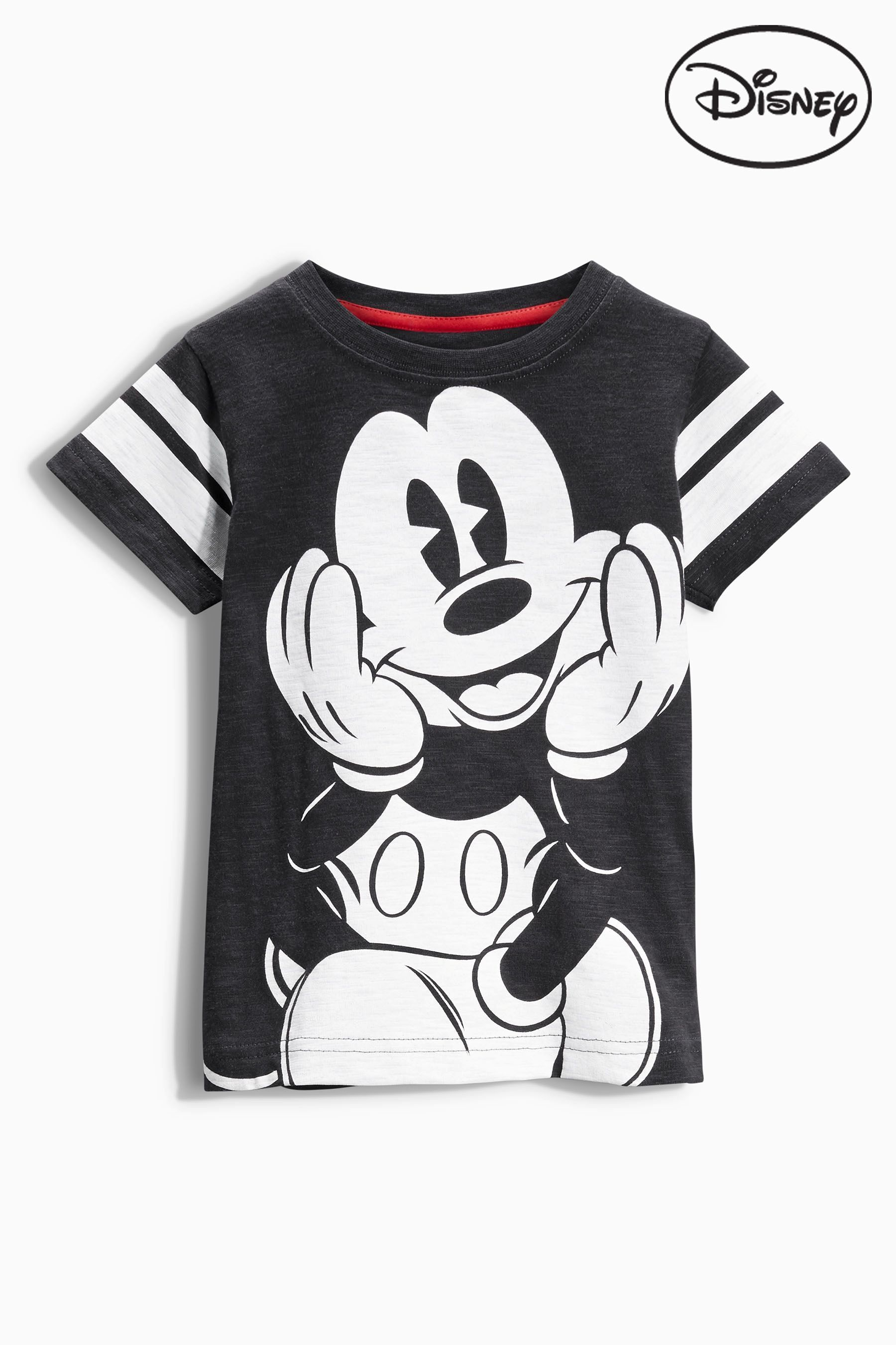 Design t shirt cheap uk - Buy Black Mickey Mouse Short Sleeve T Shirt From The Next Uk Online Shop