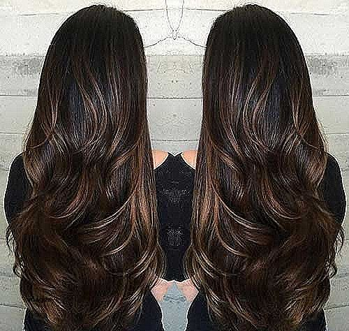 Haircut Style Names For Long Hair Haircut Styles Pinterest