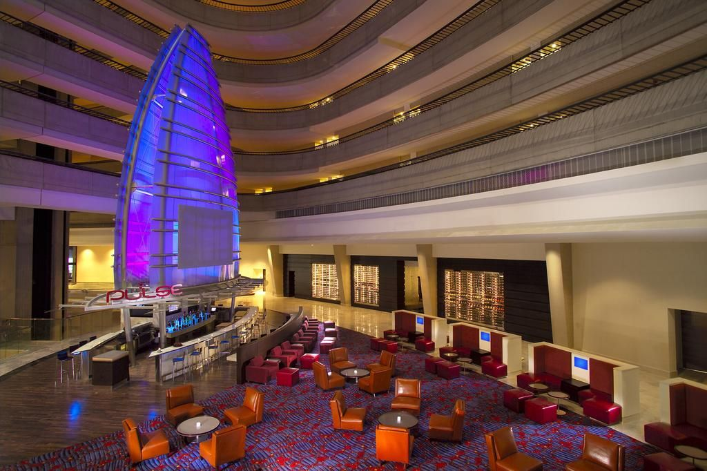 Pulse Bar At The 2017 Hotel Conference Center Atlanta Marriott Marquis
