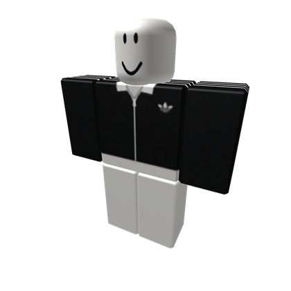 Black Cropped Adidas Track Jacket - ROBLOX