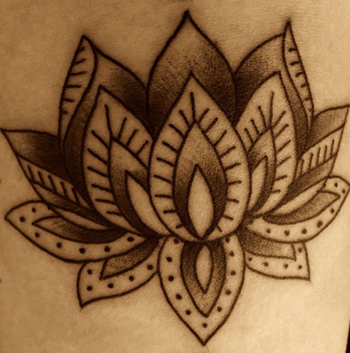 Lotus tattoo Lotus flower tattoo, Tattoos, Lotus tattoo