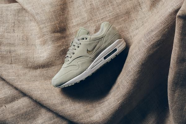 1e48fde2199d Nike Air Max 1 Premium SC  Jewel  - Neutral Olive Metallic Gold ...