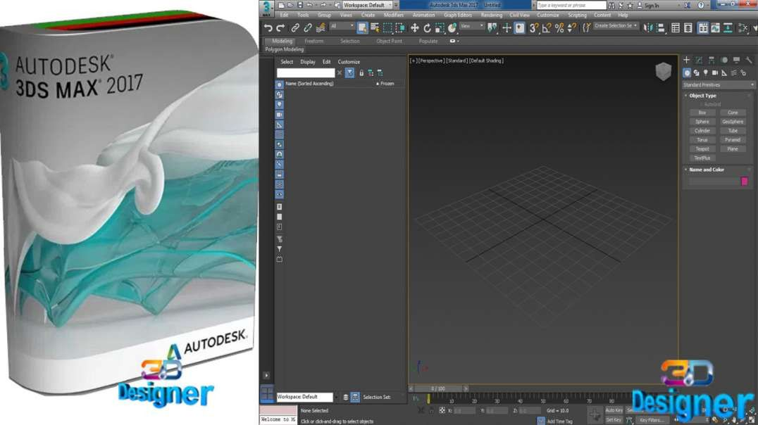 Pin on How To Download and Install Autodesk 3DS MAX 2017