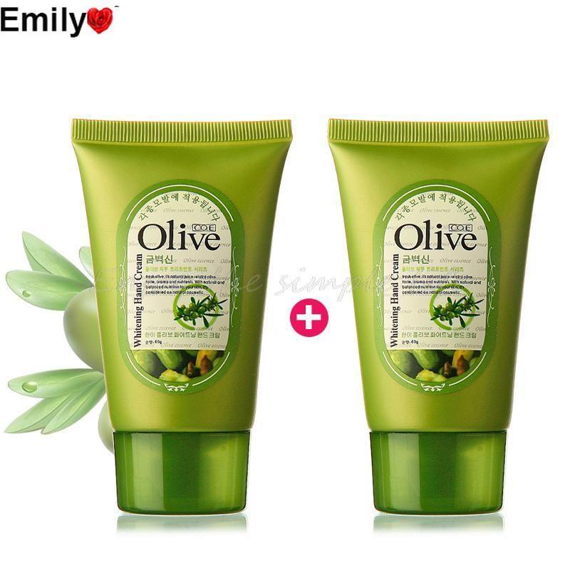 (2 PCS) Beauty & Health Skin Care Olive Brand Whitening and Moisturizing Hand Cream Korean Comestics Makeup Free Shipping #Affiliate