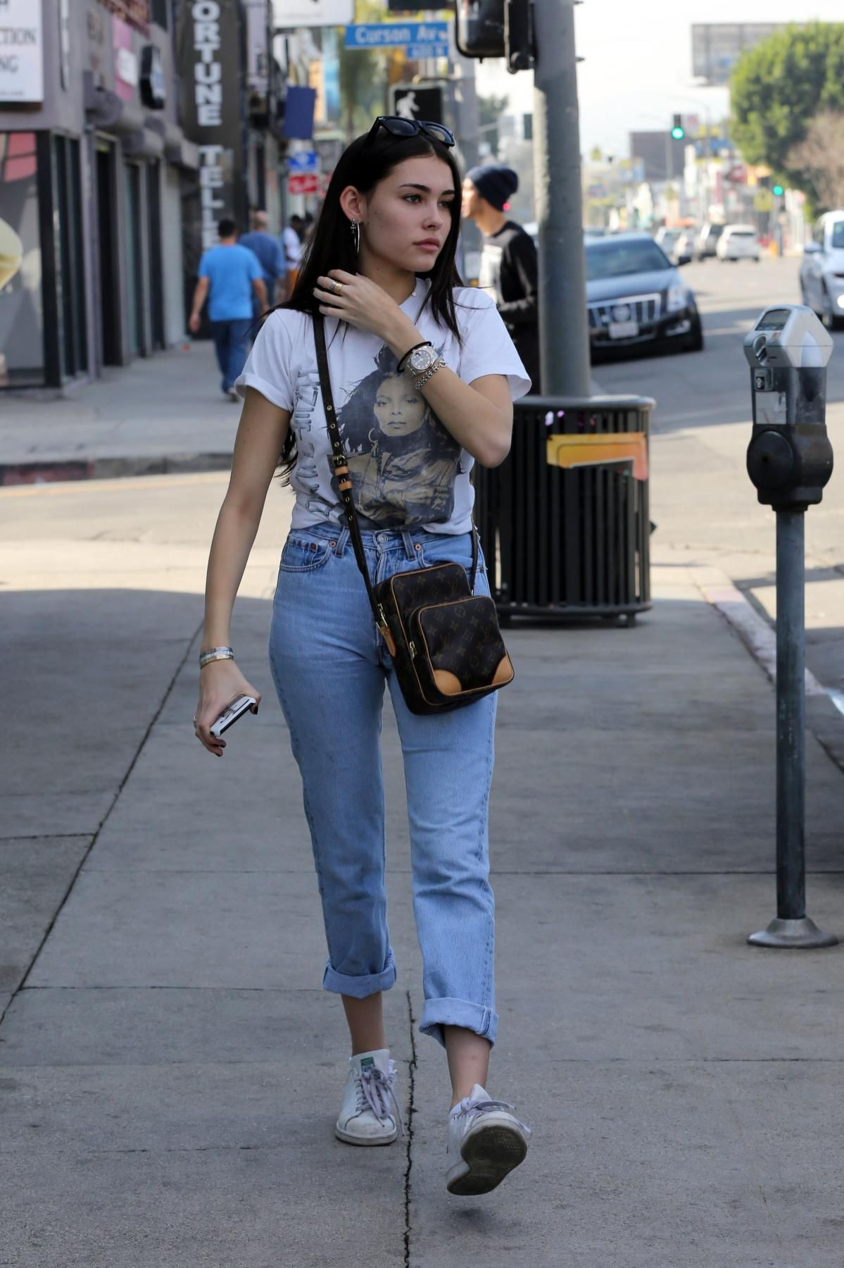 Ebonee Davis from Best Celeb Street Style From New York