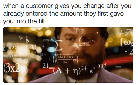 25 Pictures That Sum Up Being A Cashier Retail humor