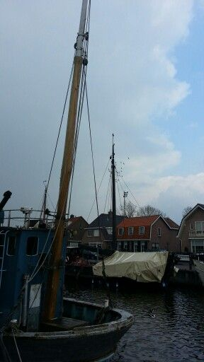 Spakenburg in the province Utrecht, Netherlands