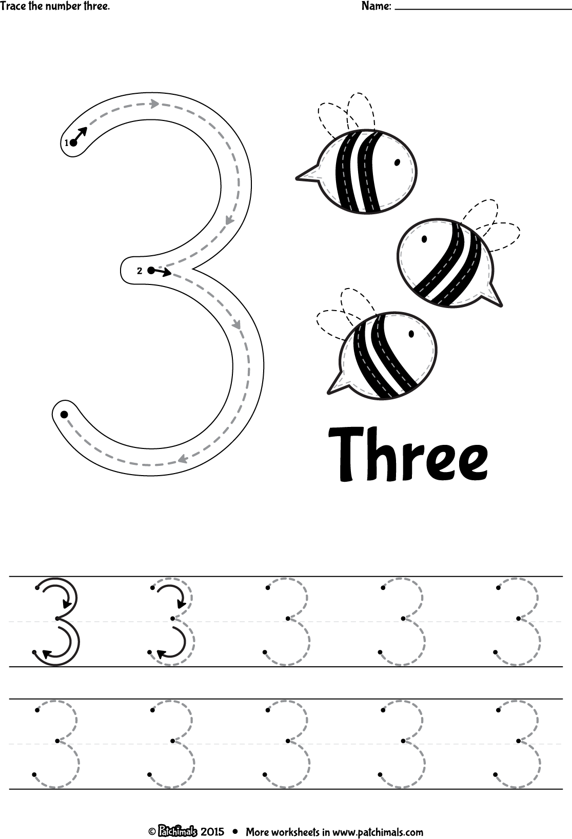 Pin About Preschool Number Worksheets Preschool