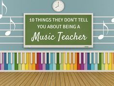 Mrs. Miracle's Music Room: 10 things they don't tell you about being an elementary music teacher