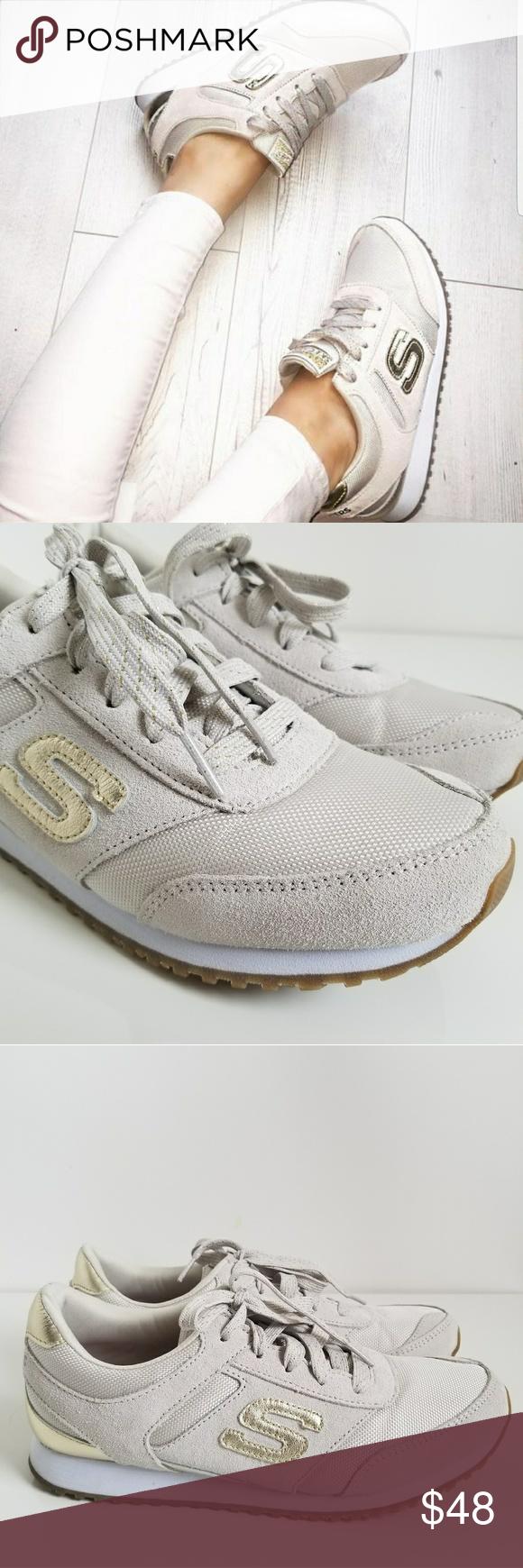 27ba08360a1c7 Skechers Womens Retros OG 78 - Gold Fever Style glitters like a disco ball  in the