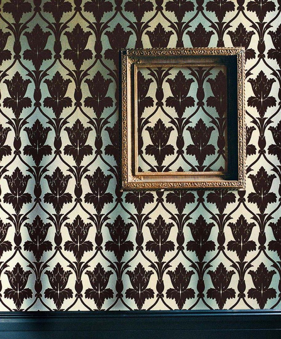 Le Papier Peint Si Représentatif De Sherlock Series