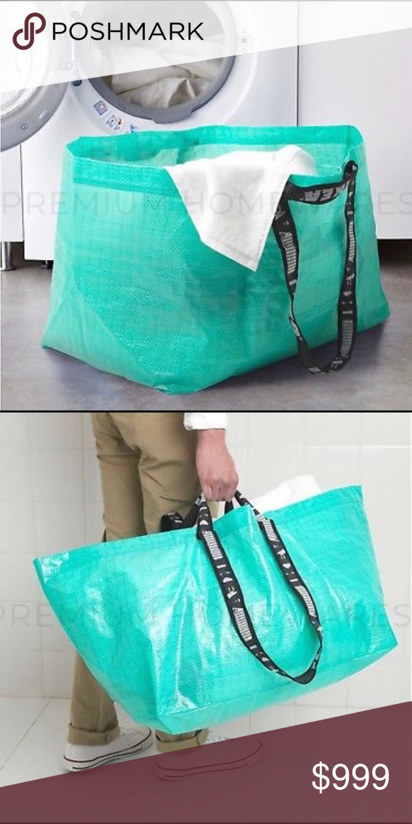 Custom Qty Teal Ikea Bags Like And Comment Nwt Bags Limited