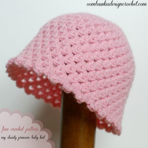 My Dainty Princess Baby Hat Pattern