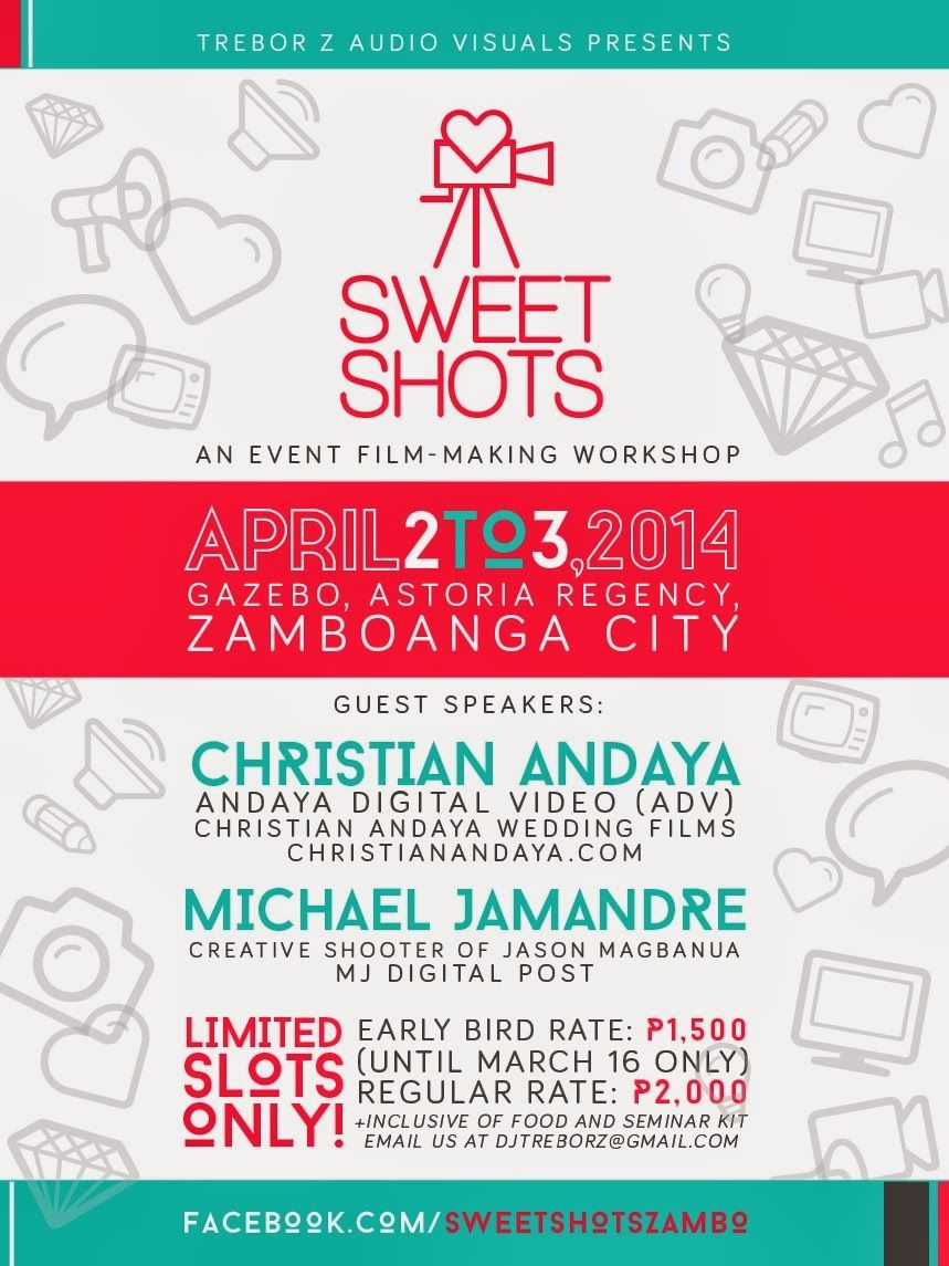 Sweet Shots An Event Film Making Workshop In Zamboanga Poster