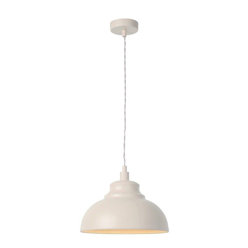 Lucide isla ceiling pendant light cream