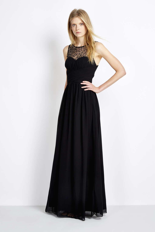 18ffd2f18 Little Mistress Black Pearl Maxi Dress