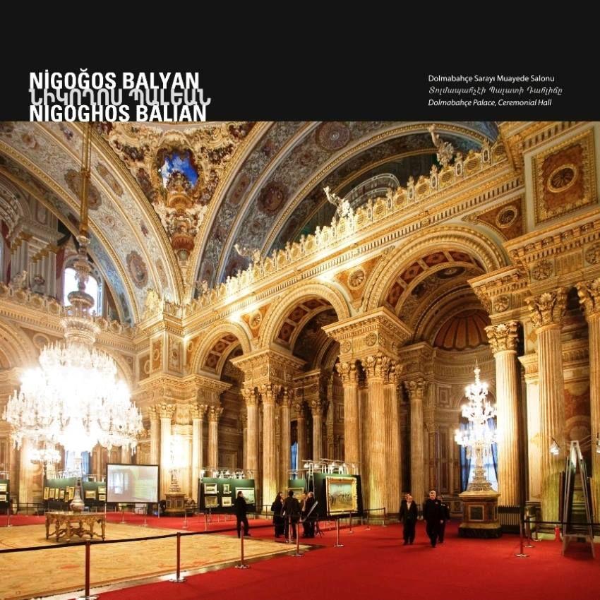 armenian architects in turkey Dolmabahçe palace