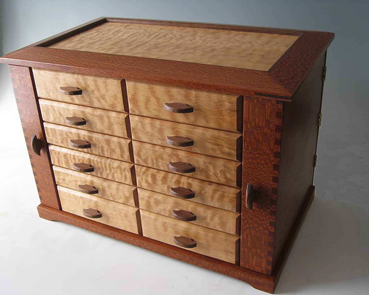 Handcrafted wood jewelry boxes - Custom Jewelry Boxes The Perfect Unique Gift Idea