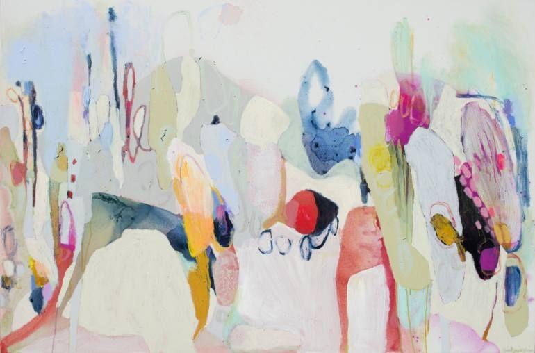 """Saatchi Art Artist Claire Desjardins; Painting, """"Around the Corner"""" #art"""