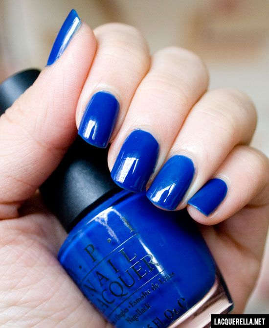 Dating a Royal by OPI is an Electric Blue Purple, perfect for the ...