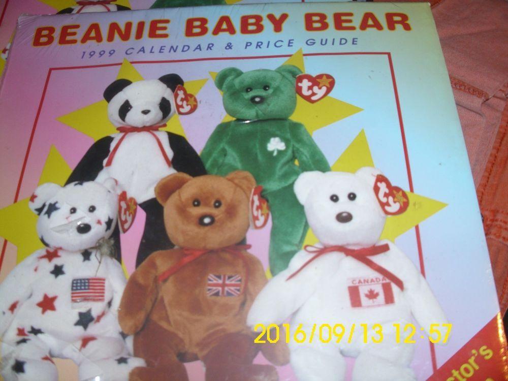 Beanie Baby Bear 1999 Calendar Price Guide Collector S Edition