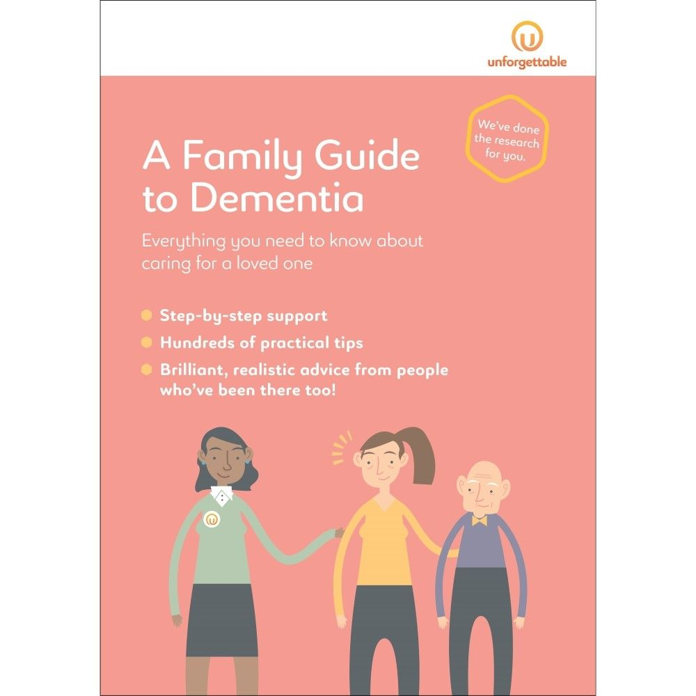 PRODUCTS A Family Guide to Dementia Books, Nonfiction