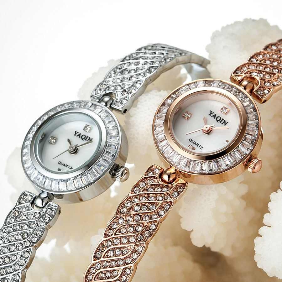 90e11c8997f bracelet watches women crystal dial dimond band quartz wristwatches brand  fashion high quality clock relogio feminino