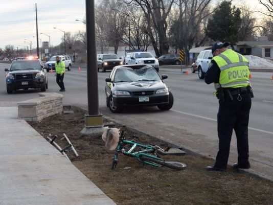 Car Vs Bike Crash Closes Road In Fort Collins With Images