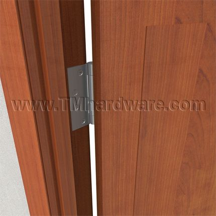 Half Surface Architectural Door Hinge With Three Knuckles. Sold By