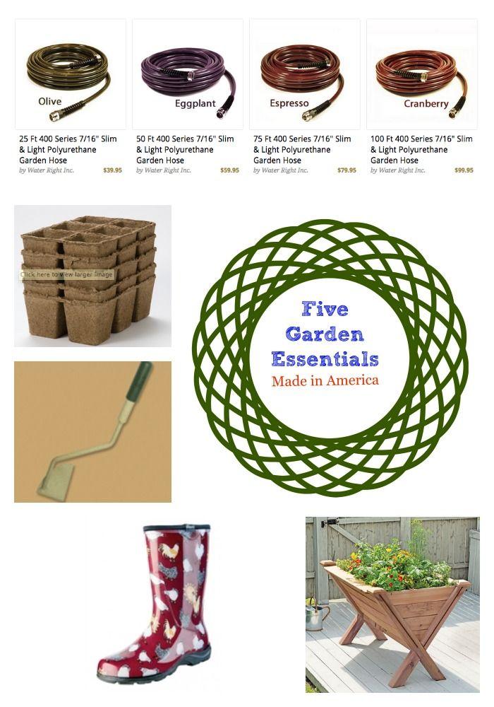Five Made In America Garden Essentials