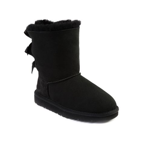 shop for youthtween ugg bailey bow boot in black at journeys kidz rh pinterest com