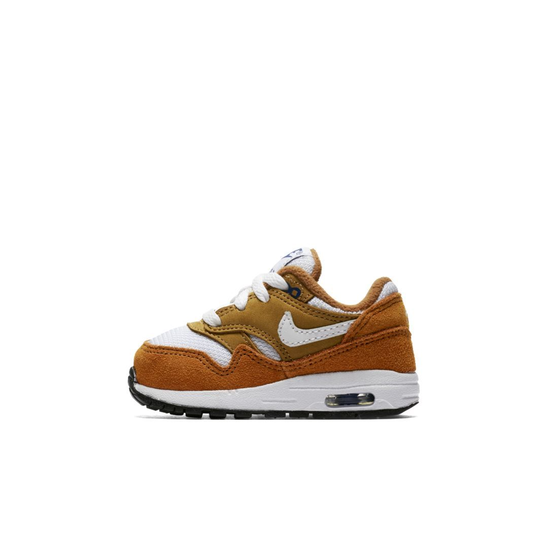 reputable site 647bf 4df1b Nike Air Max 1 Premium Retro Infant Toddler Shoe Size 6C (Dark Curry)
