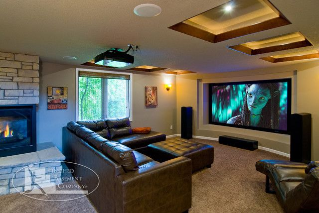 Basement Home Theater Man Cave Dreams Basement Home Theater