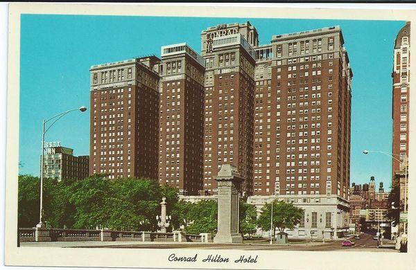 Conrad Hilton Hotel Michigan Avenue Chicago