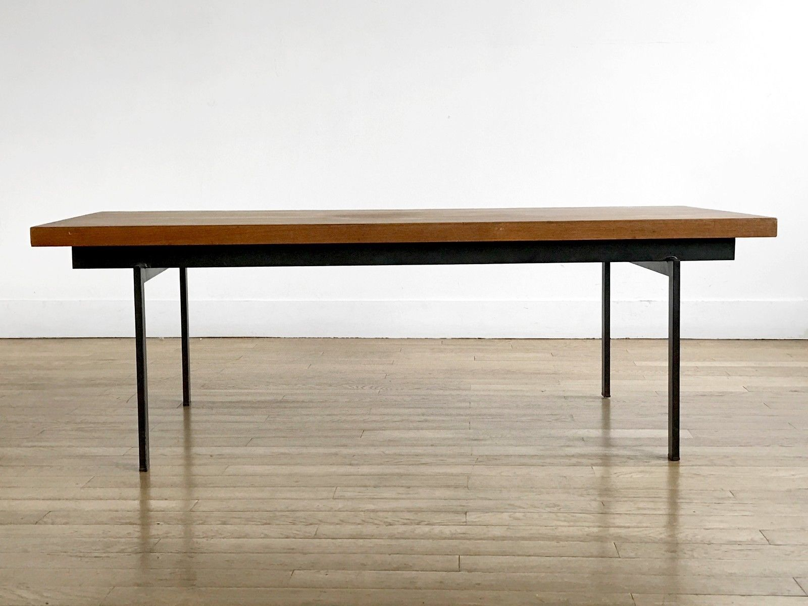 1950 Cees Braakman Pastoe Table Basse Moderniste Bauhaus Dansk