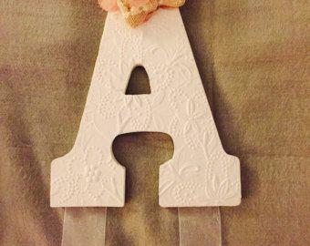 Letra de pelo arco suspensión personalizados de por McKinleysLoves