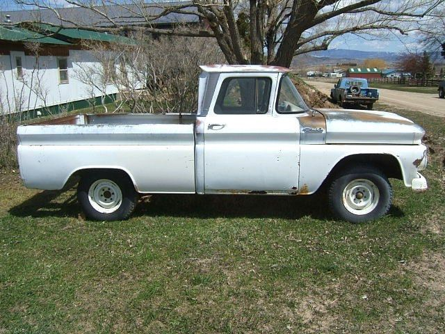 1962 Chevrolet Short Bed Small Window Pickup Truck 6 Cylinder 4 Sd Chevy