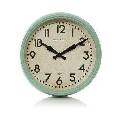 George Home Stylised Metal Wall Clock Home Accessories George At Asda Metal Wall Clock Chrome Wall Clock Clock