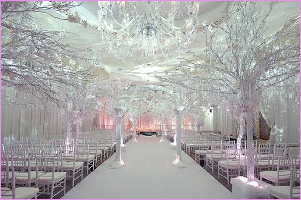 Attractive Winter Wonderland Wedding Decorations Ideas Part - 14: Matrimonio In Inverno Winter Wedding Decoration