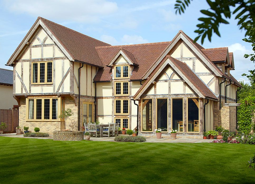 Oak framed buildings oak buildings oakwrights rock for Oak framed house designs