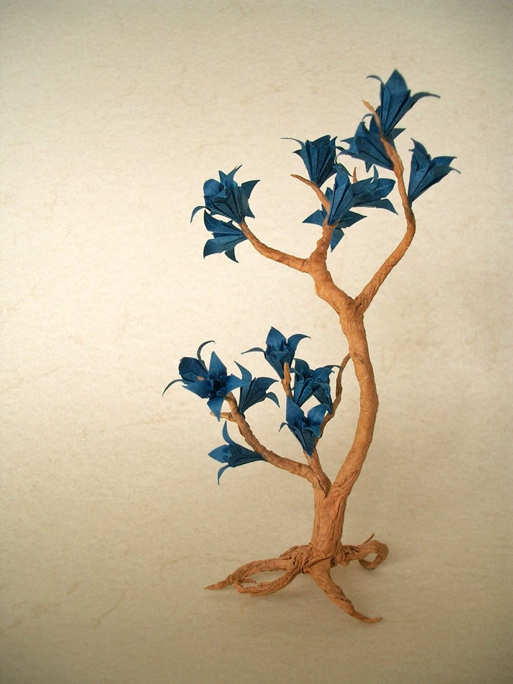Origami flower tree lotus pinterest flower tree origami and origami flower tree jeuxipadfo Image collections