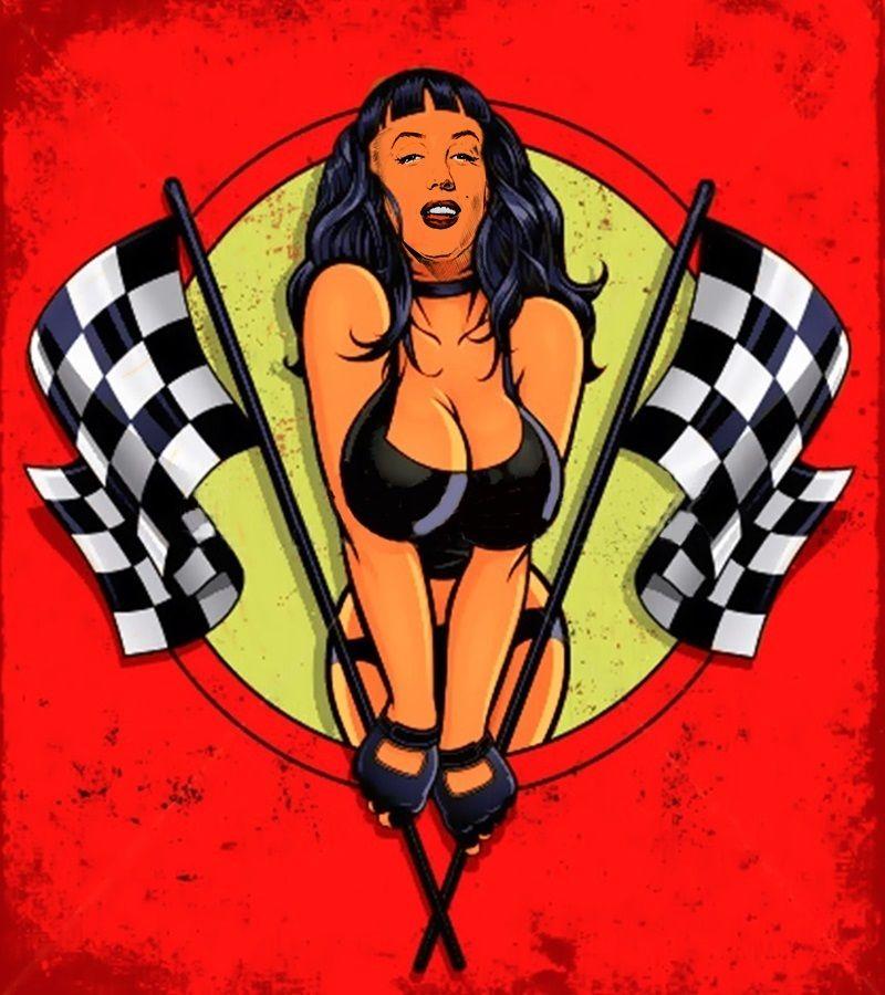 Hot Rod Girl by pave65 on DeviantArt
