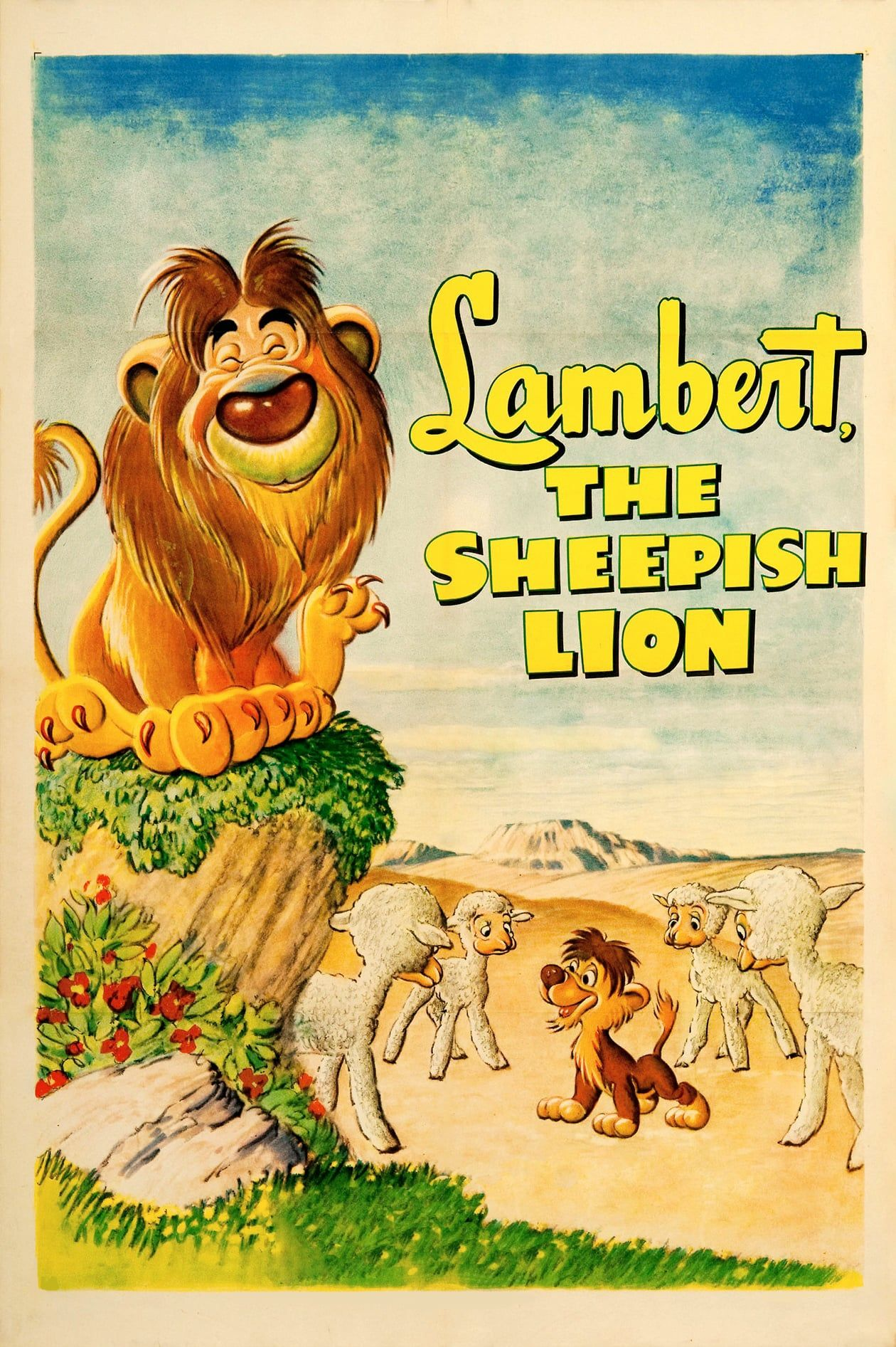 Lambert the Sheepish Lion FULL MOVIE HD1080p Sub English