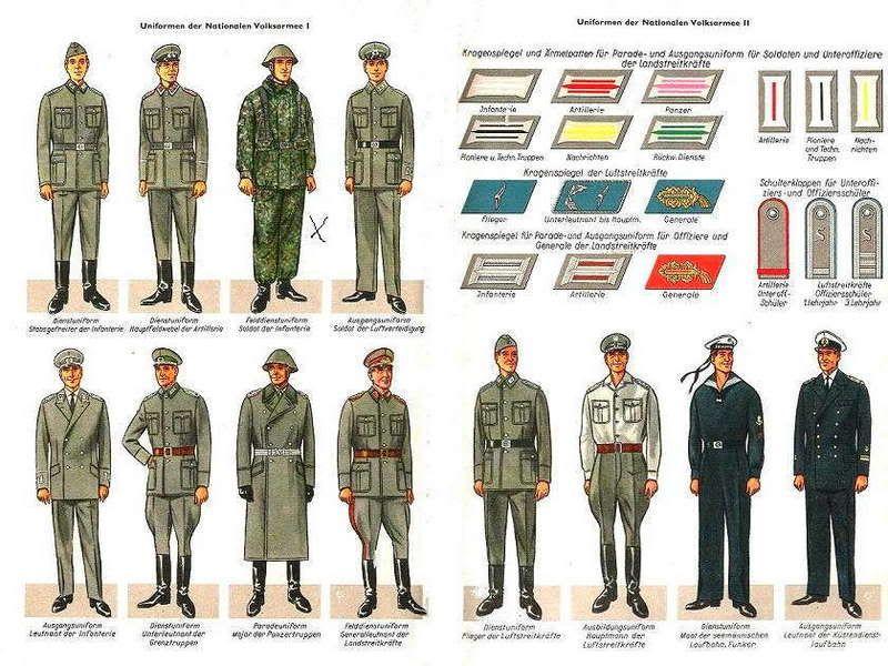 NVA Flächetarnmuster by People's Army on red alliance