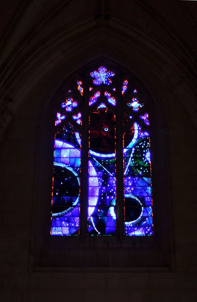Space Window at Washington National Cathedral