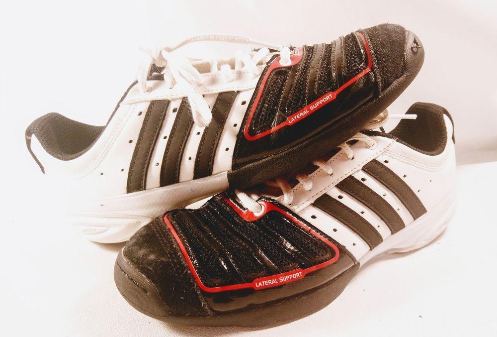 7 Black White Adidas D'artagnan V Red 12 Size Shoes Fencing PkOuiXZ