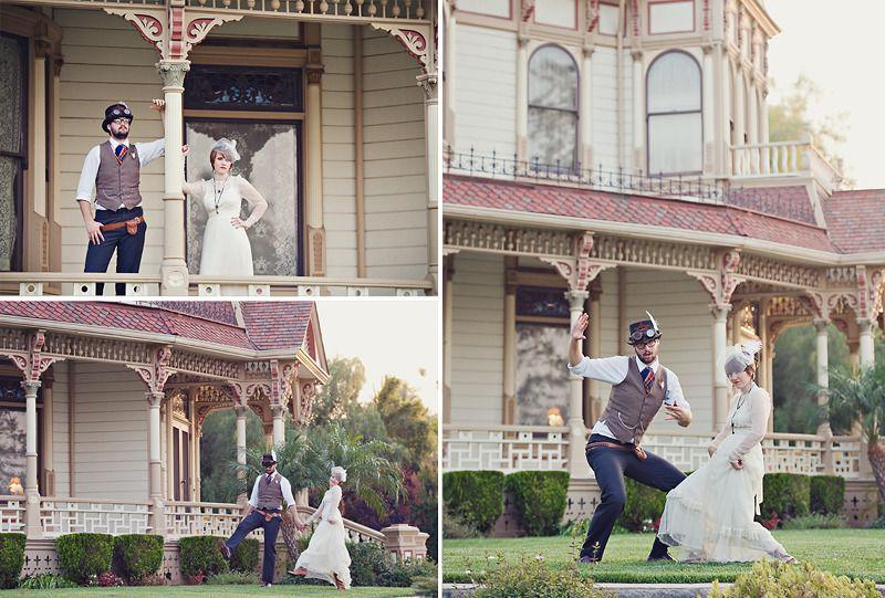 Fresh From God Photography Steampunk Wedding