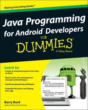 Java Programming For Android Developers For Dummies Programmeren