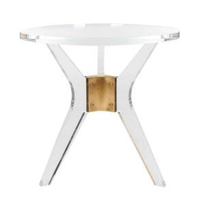 Clear Plastic Acrylic End Amp Side Tables You Ll Love